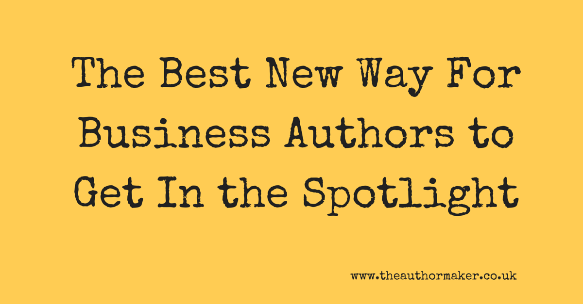 The best new way for business authors to get in the spotlight, online summits, business book writing, business book marketing