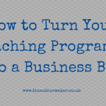how to turn your coaching programme into a book, book writing, book coaching, ghostwriting